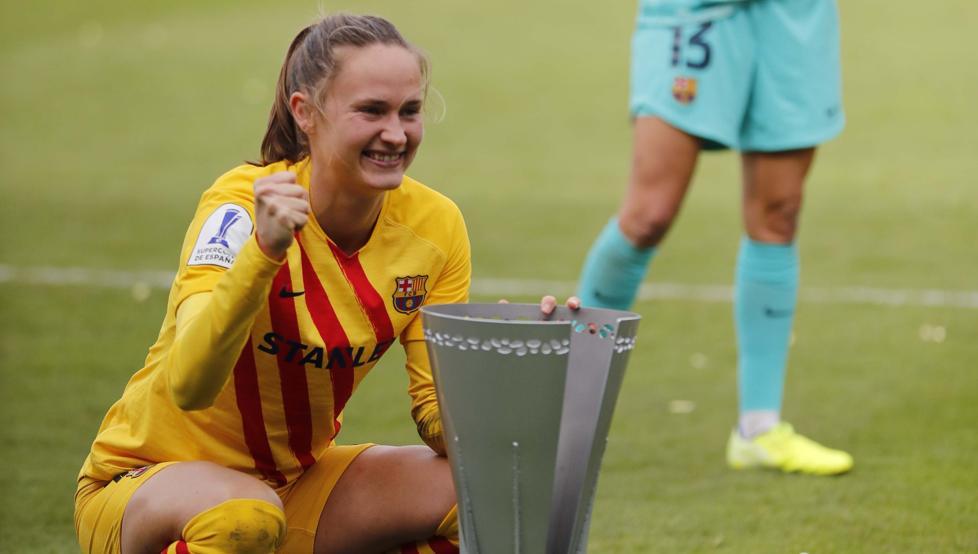 Hansen celebra su cumpleaños en el mejor momento del Barça