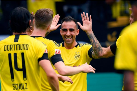 Doblete de Paco Alcácer para empezar la Bundesliga