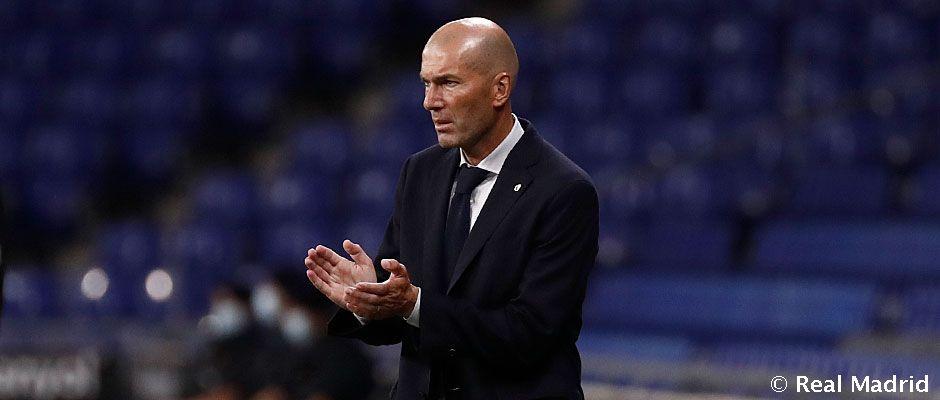 """Zidane: """"Ha sido un gol muy bonito, de equipo, y me alegro por los jugadores»"""