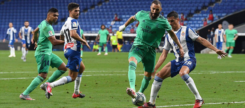 Así fue la genial asistencia de tacón de Benzema en el gol de Casemiro