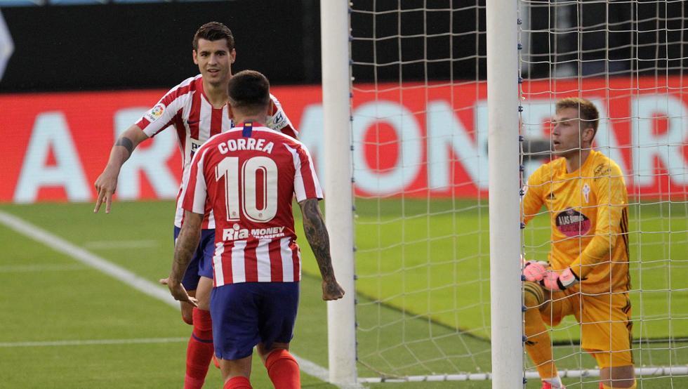 """Morata: """"Vamos a cerrar objetivos en Liga, y a por la Champions"""""""