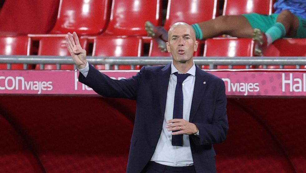 """Zidane: """"Me quedo con el sufrimiento de la segunda parte"""""""