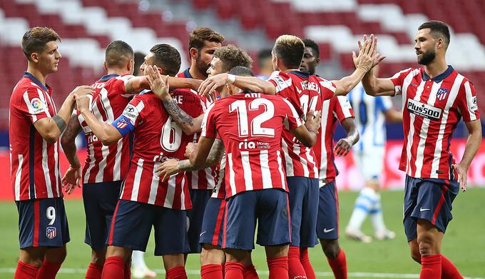 Las notas del Atlético de Madrid ante la Real Sociedad: dos notables y tres suspensos