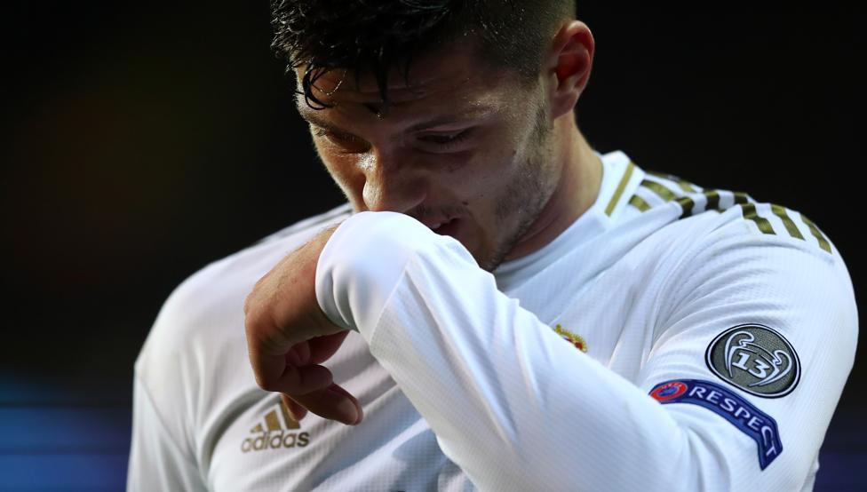 Luka Jovic, más cerca de irse que de seguir en el Real Madrid