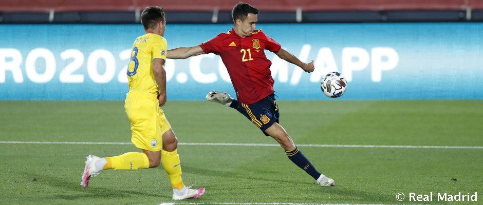 Reguilón debuta con la selección española