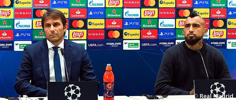 """Conte: """"El Real Madrid es un equipo construido para ganar esta competición"""""""